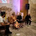 L'arte di Valeria Secchi nel centro storico di Ruvo anche di notte