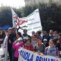 Il gonfalone di Ruvo di Puglia alla manifestazione nel ricordo delle vittime di mafia
