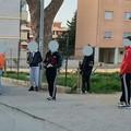 A Parco Mennea nonostante il divieto, multati in cinque
