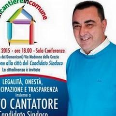 Vito Cantatore non aspetta e corre in avanti