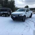 Rangers d'Italia in azione sulla strada provinciale 85 Bisceglie-Ruvo-Corato