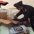 Oltre 750 bombe carta trovate in un casolare tra Terlizzi e Ruvo. VIDEO