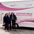 La carovana della prevenzione oncologica in città