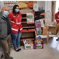 """""""Scuola per tutti"""", la Croce Rossa consegna materiale scolastico all'Emporio LegAmi"""