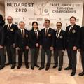 Michele Di Domenico è arbitro internazionale di karate, l'unico di Puglia