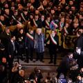I sindaci d'Italia a Milano con Liliana Segre. Tra loro anche Chieco
