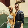 Francesco Garofalo e Magdalena tra le 15 migliori coppie al mondo nelle danze latino americane