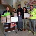 La U.S.D. Ruvese consegna la raccolta alimentare nelle mani di Ruvo Solidale