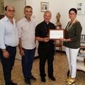 Mons. Cornacchia socio onorario dell'Associazione Imprenditori Molfetta