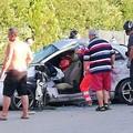 Scontro tra due mezzi sulla Bisceglie-Ruvo/Corato. Quattro feriti