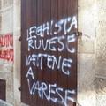 Atto vandalico ai danni della sede della Lega di Ruvo di Puglia