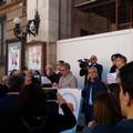 I 5 Stelle insultano la stampa, anche a Bari manifestano i giornalisti: «Giù le mani dall'informazione»