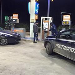 Assalto sventato alla stazione di servizio tra Ruvo e Terlizzi
