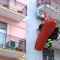 Paziente obesa soccorsa dai vigili del fuoco