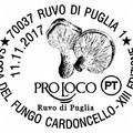 Un annullo filatelico speciale per la Sagra del Fungo Cardoncello