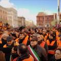 Protesta dei gilet arancioni, migliaia in piazza. Ruvo di Puglia rappresentata dal presidente del Consiglio comunale