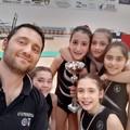 La piccola Giorgia Roselli vice campionessa regionale di Ginnastica Artistica