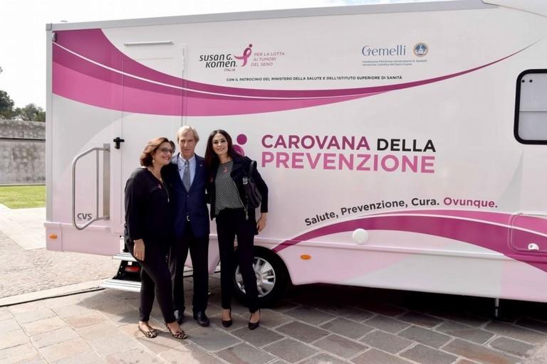 Carovana della prevenzione oncologica