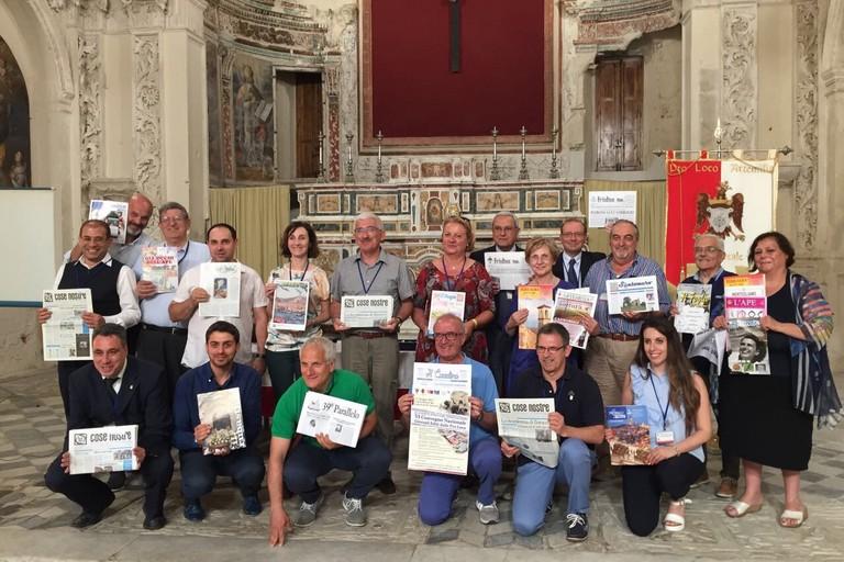 Castroreale (ME) Giugno 2017 - VI Convegno Nazionale dei Giornali Editi dalle Pro Loco d'Italia