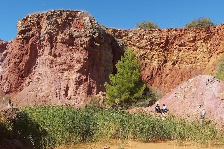 Cave di bauxite a Spinazzola