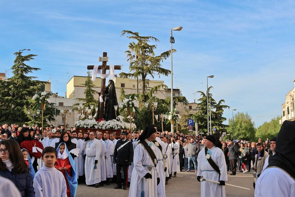 La Processione della Desolata. <span>Foto Teresa Fiore</span>