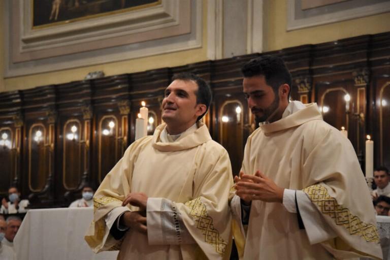 Don Massimiliano e Don Ignazio presbiteri
