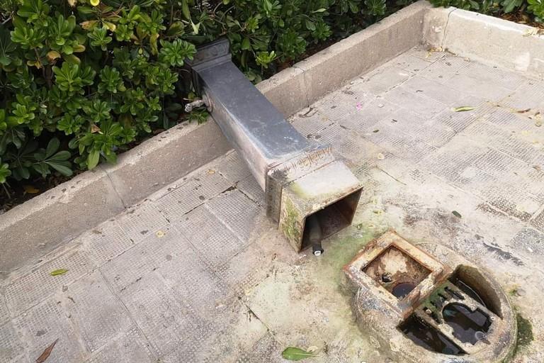 La fontana di Piazza Bovio
