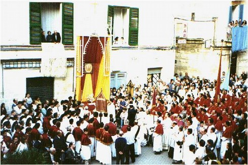 Festa dell'Ottavario (Foto Giuseppe Tedone)