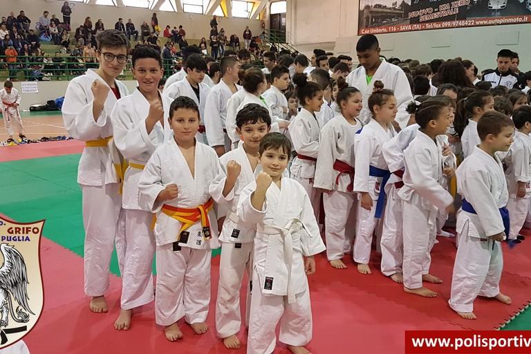 """Olympia Grifo, cinque medaglie al Trofeo Nazionale di Ju Jitsu """"Fiera Pessima 2018"""""""