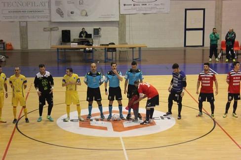 Futsal Ruvo-Olympique Ostuni. <span>Foto Giuseppe Tedone</span>