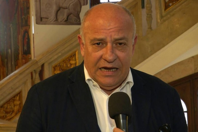 L'assessore regionale Giannini