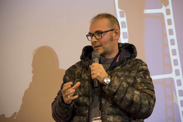 Il regista Michele Pinto