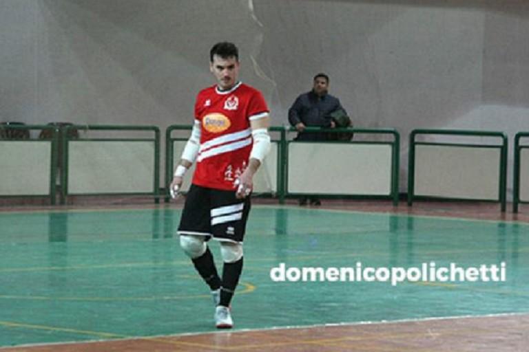 Il ruvese Biagio Stasi al Futsal Capurso