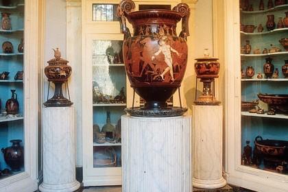 Vaso di Talos - Museo nazionale Jatta