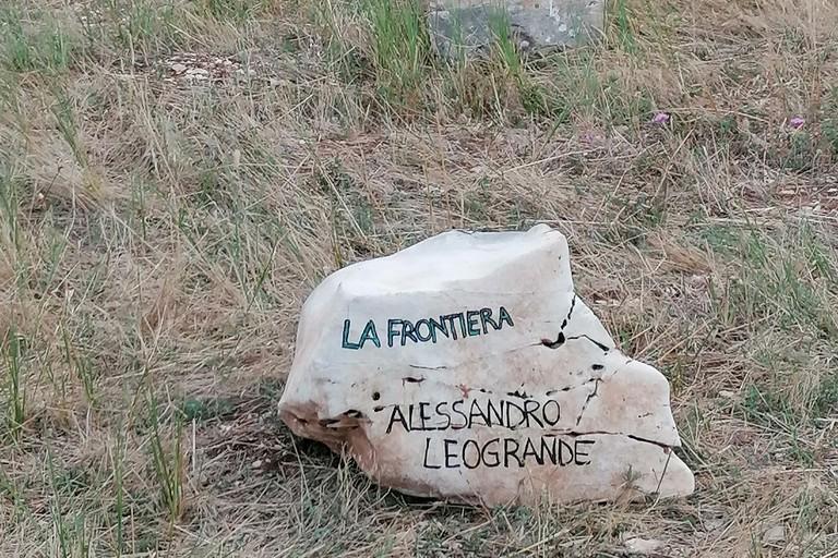 Intitolazione area ad Alessandro Leogrande