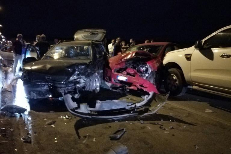 L'incidente stradale sulla provinciale Bisceglie-Ruvo/Corato