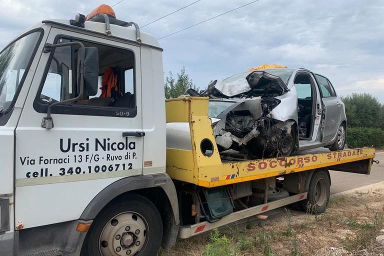 Incidente Ruvo di Puglia
