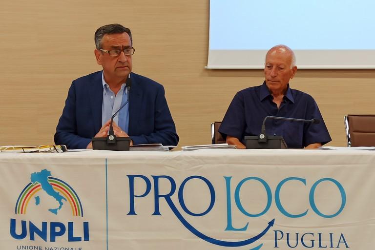 Lauciello e Lazzari UNPLI Puglia