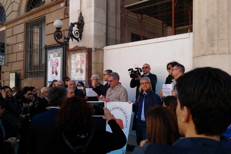 Manifestazione Giornalisti
