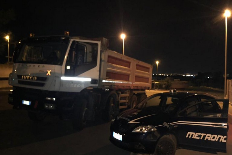 Metronotte Ruvo sventano furto all'impianto di depurazione dell'Aqp di Bisceglie