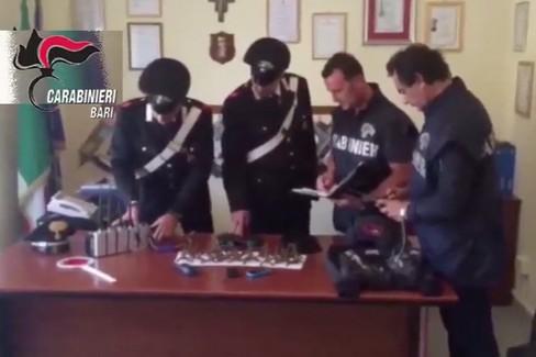 Assalto TIR a Ruvo, arrestati