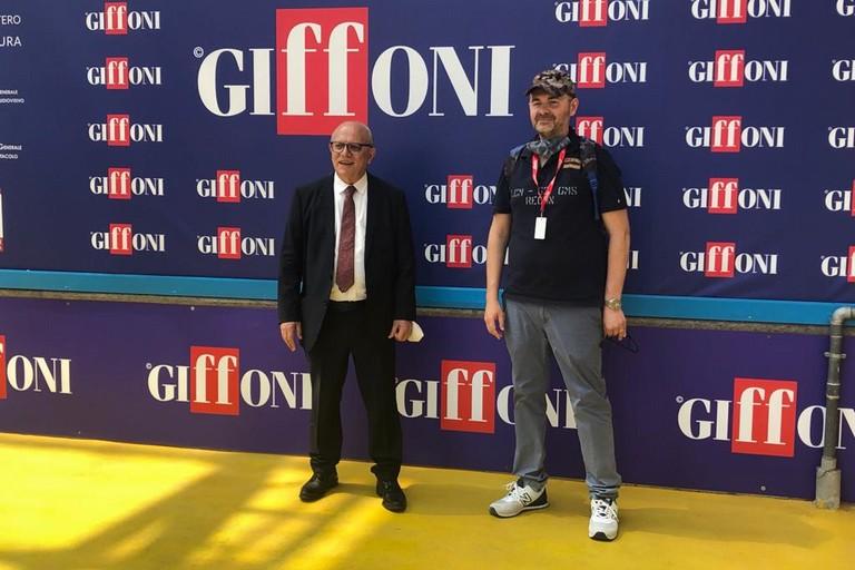 Michele Pinto con Claudio Gubitosi