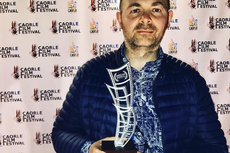 Michele Pinto premiato al Caorle Film Festival