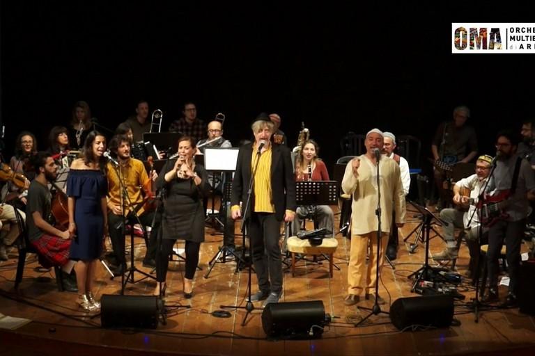 Enrico Fink e l'Orchestra Multietnica di Arezzo
