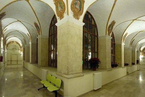 Ph. Mario Di Puppo –  Ciclo di affreschi nel Convento dei Minori Osservanti – Ruvo di Puglia. <span>Foto Mario di Puppo</span>