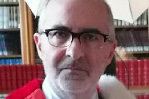 Il giudice Pietro Curzio