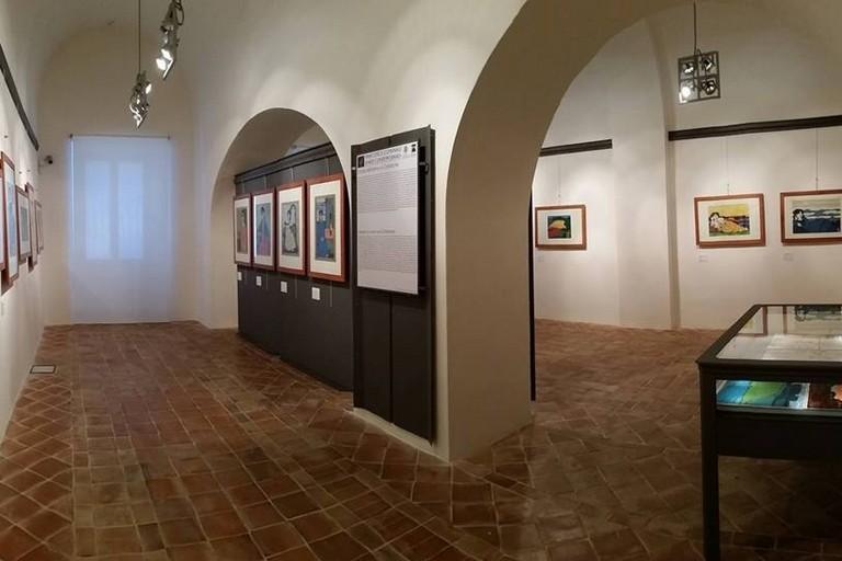 Pinacoteca Comunale di Arte Contemporanea - Sala delle donne e dei paesaggi di D. Cantatore. <span>Foto Mario Di Puppo</span>