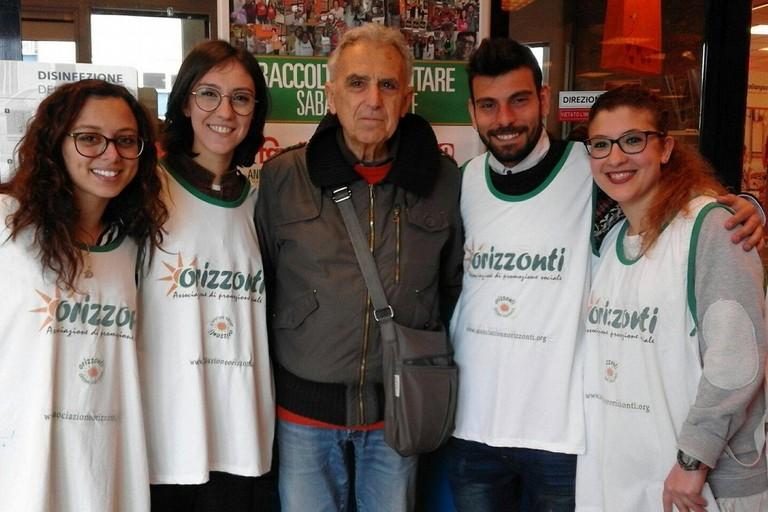Raccolta alimentare record per l'Associazione Orizzonti