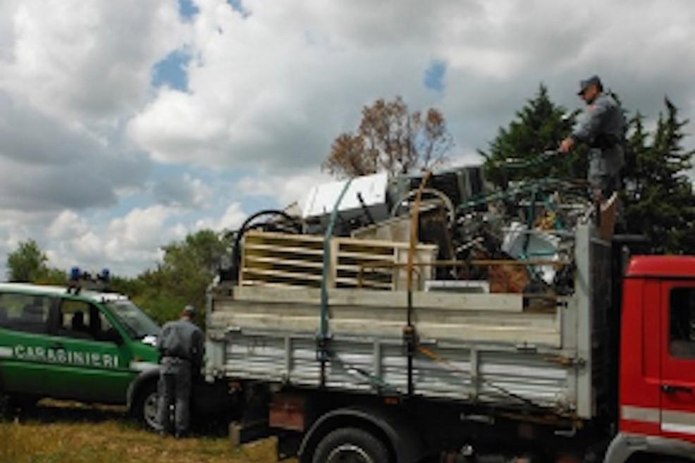 Trasportava rottami senza autorizzazione sulla Ruvo-Altamura