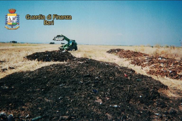 Sversamento di rifiuti nel territorio foggiano